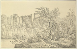 Part of Chepstow Castle - Monmouthshire